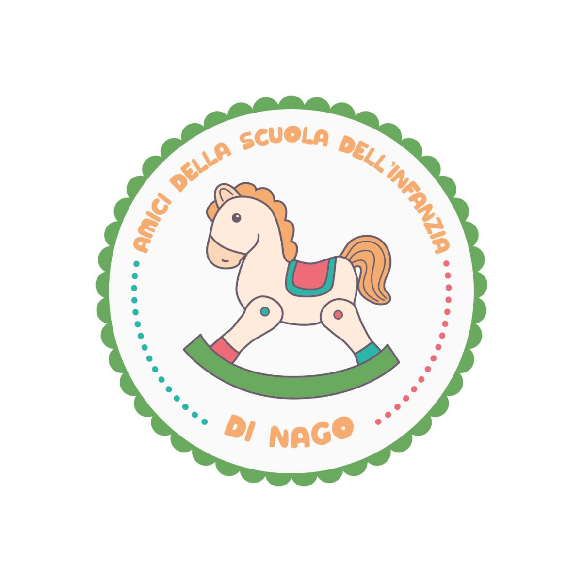 Logo degli amici della scuola di Nago - monfinedesign