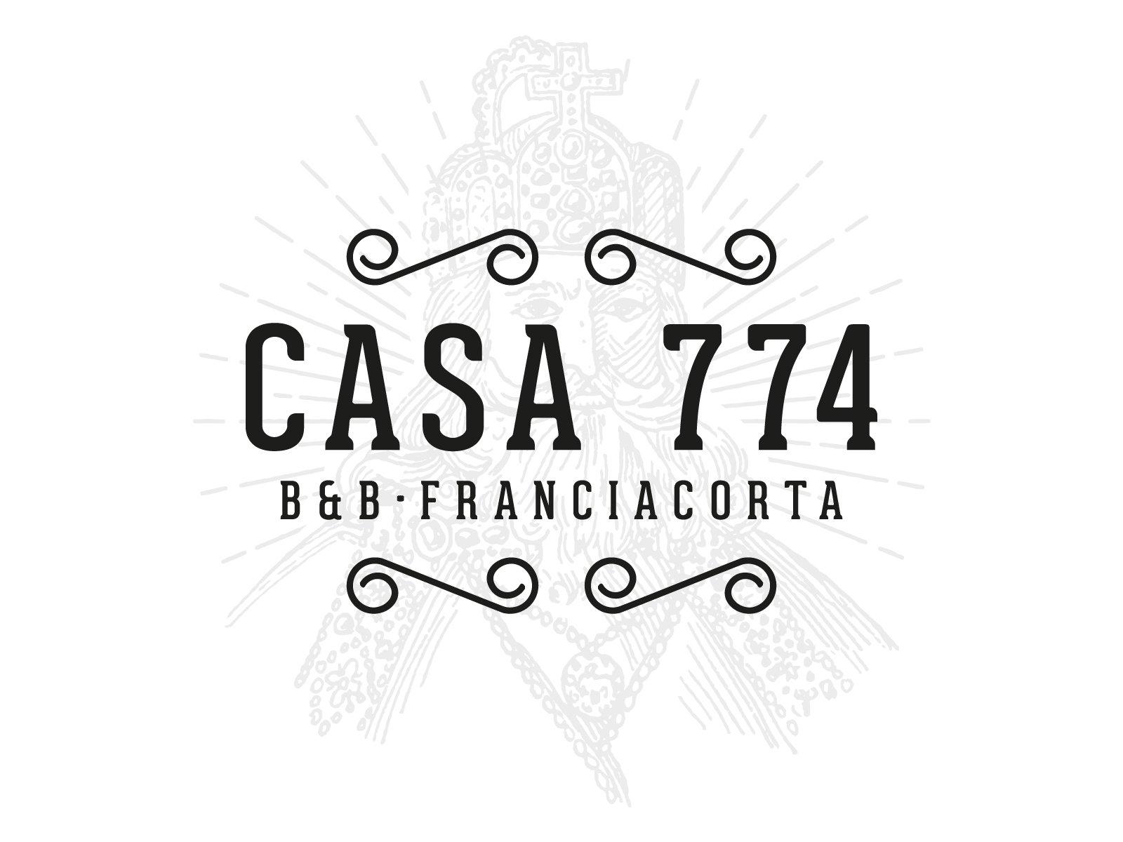 casa 774, branding b&b, Passirano - Italia