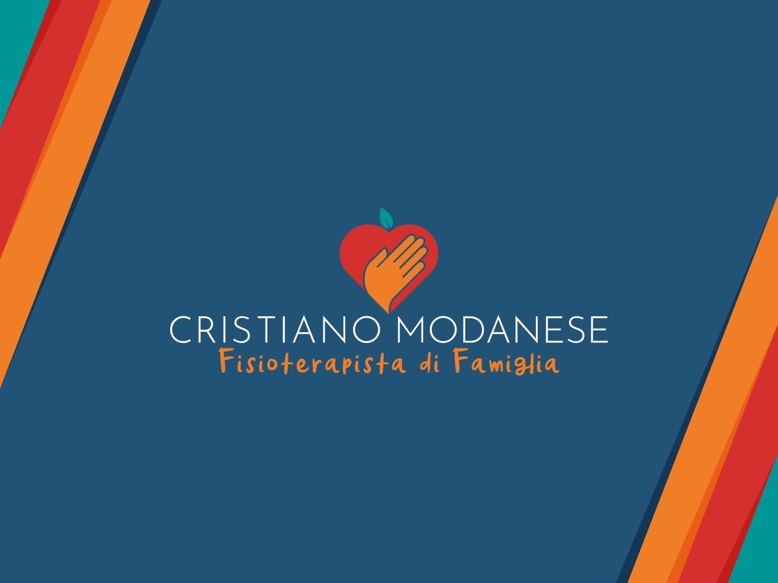 cristiano modanese, branding per fisioterapista, Predaia - Italia