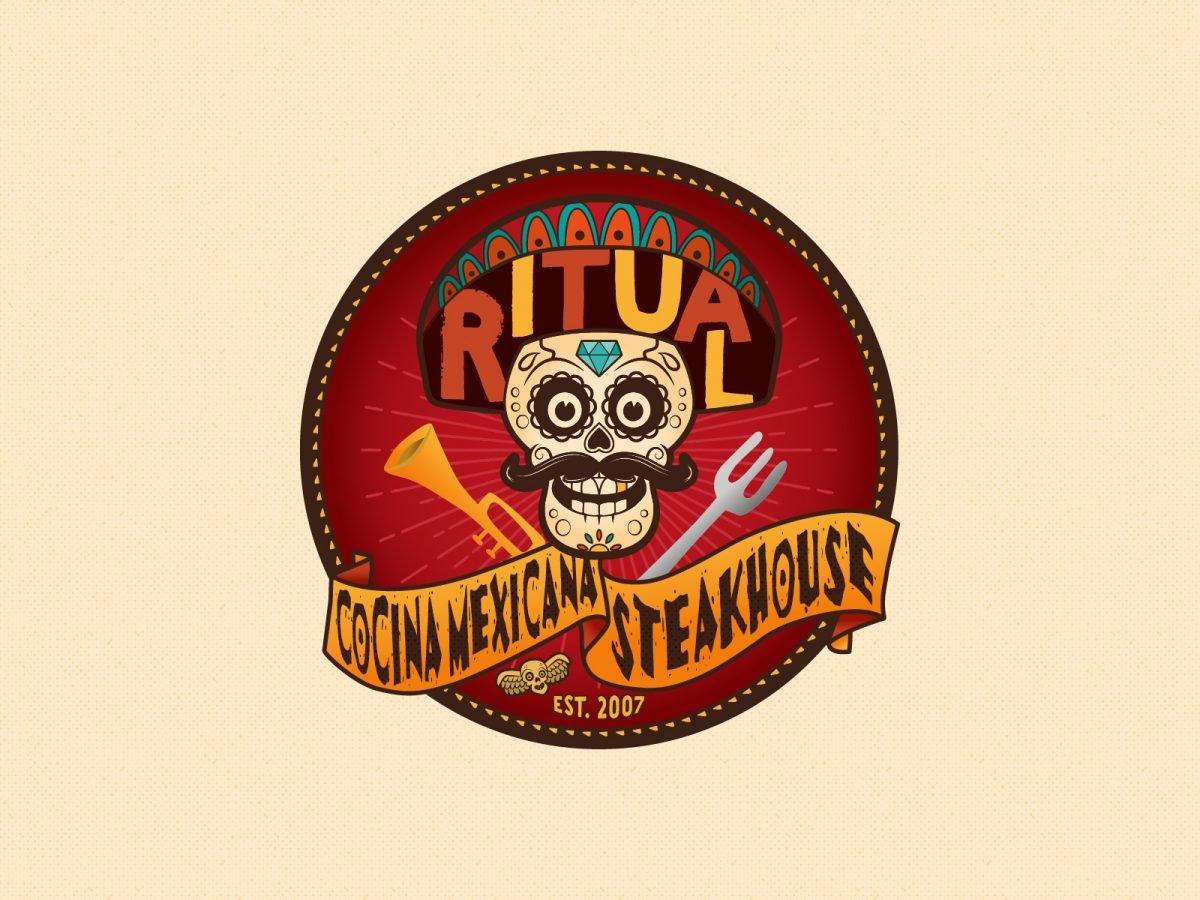 ritual, branding ristorante messicano, Parma - Italia