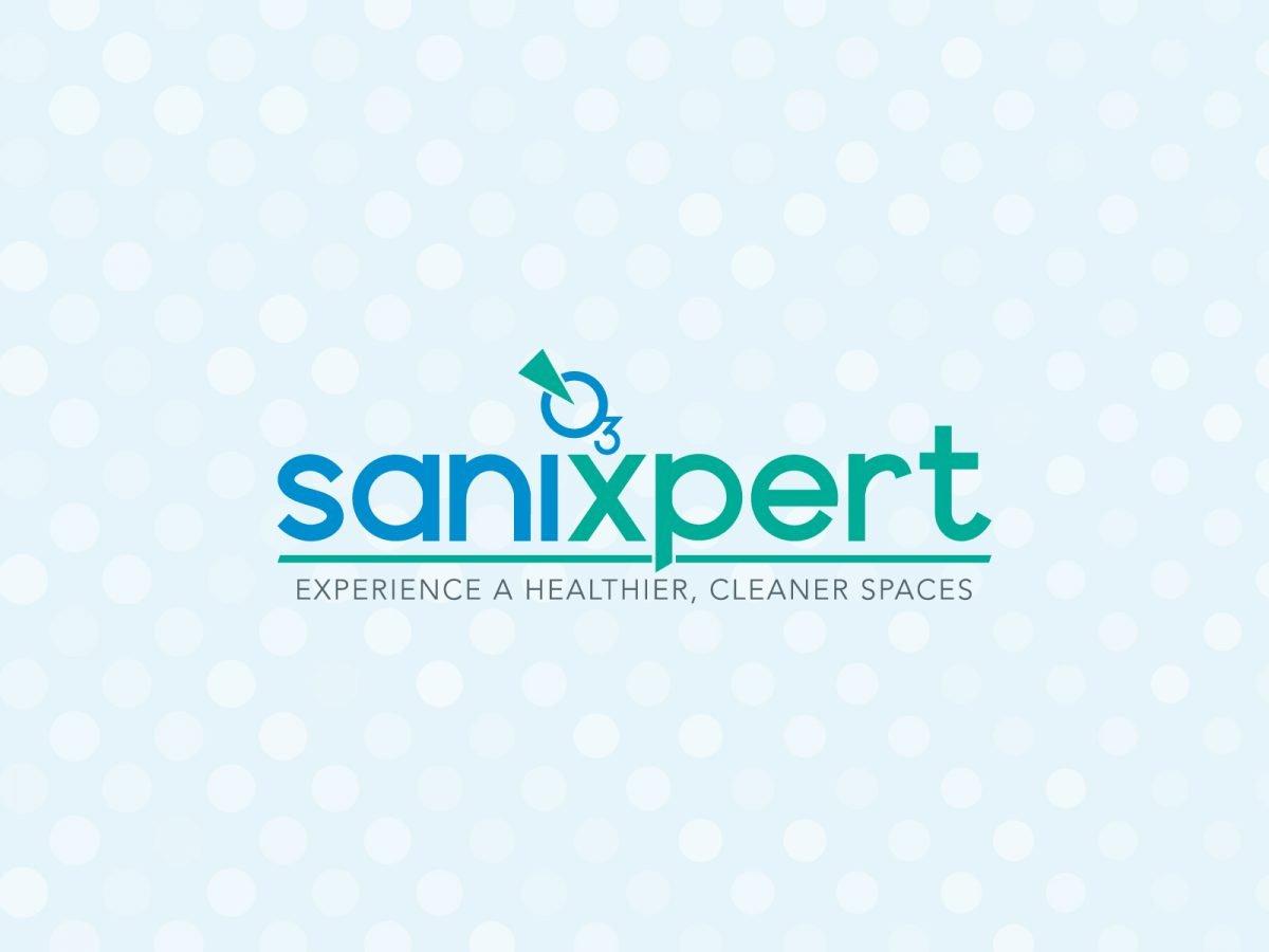sanixpert - branding azienda di sanificazione, Rīga - Lettonia