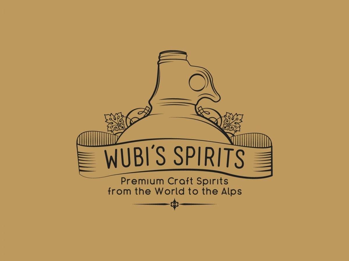 wubi's spirits, branding distributore di distillati, Rovereto - Italia