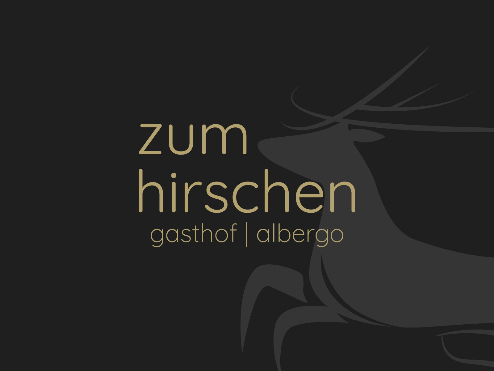 zum hirschen, branding albergo, Alto Adige - Italia