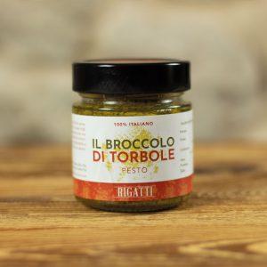 Packaging del broccolo prodotto dall'Azienda Agricola Rigatti di Nago-Torbole - monfinedesign